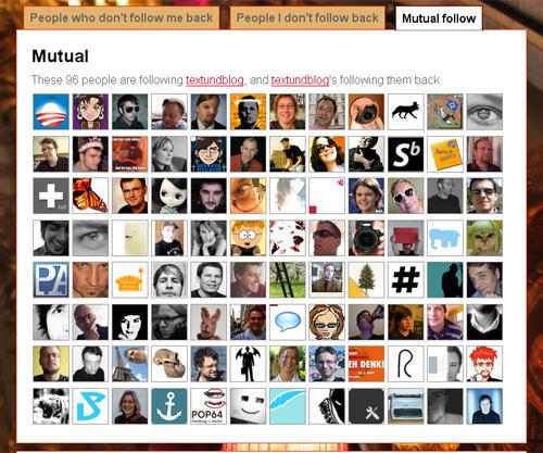 Das sind die Menschen, denen ich auf Twitter followe