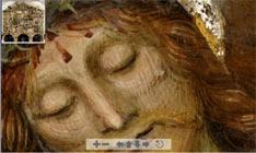 Ausschnitt Christus-Passion von Gaudenzio Ferrari in der Kirche Santa Maria delle Grazie