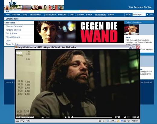 Gegen die Wand - online auf NDR