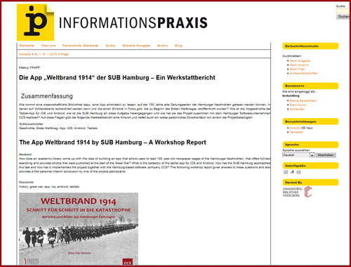 infoprax-weltbrand