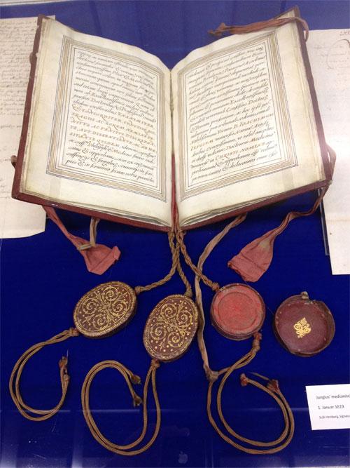 Doktor-Urkunde von Joachim Jungius (1619)