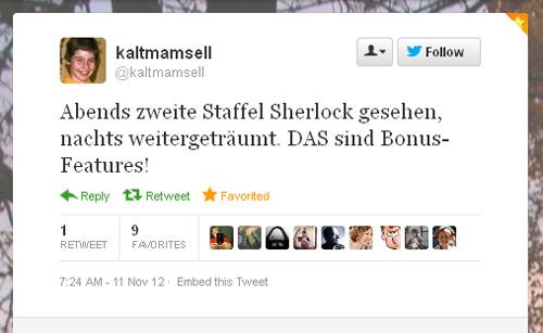 Tweet der Woche von @Kaltmamsell