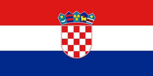 Flagge Kroatien