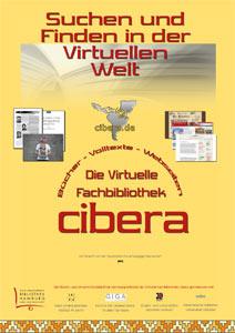 cibera-Plakat für die Nacht des Wissens