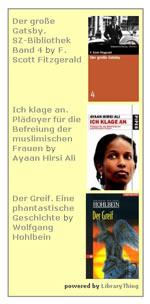 Mit dem LibraryThing-Wigdet lassen sich die Bücher ins Blog einbinden (hier:Beispiel Faustus)