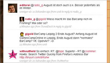 Nested Twitter Replies: rückt Original-Tweet(s) in Antworten ein