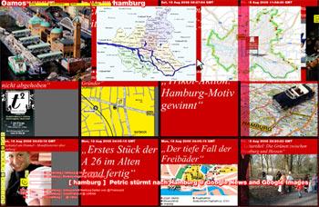 Oamos-Suche nach Hamburg
