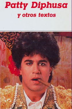 Pedro Almodóvar: Spanisches Cover seines Textes 'Patty Diphusa'