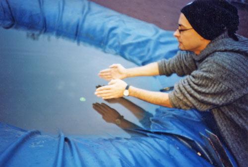 Maßnehmen beim Extrem-Cross-Boule