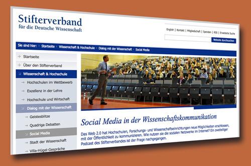 Social Media in der Wissenschaftskommunikation
