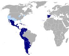 Verbreitung Spanische Sprache