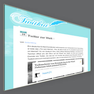 Mein neuester Twitkrit-Artikel: Twitor zur Welt