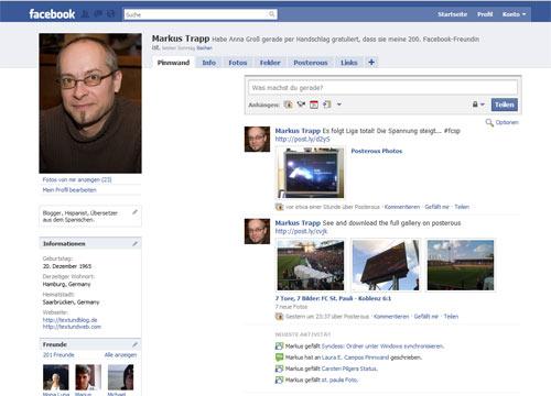 Meine Facebook-Seite
