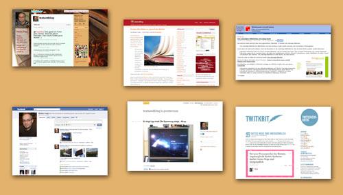 Wo ich - außer auf Text & Blog - noch überall schreibe