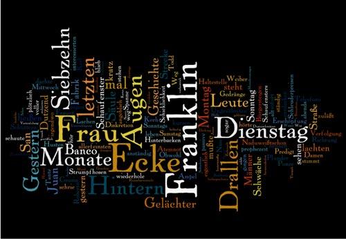 Etc. von Luis Rafael Sánchez als Wortwolke mit Wordle erzeugt