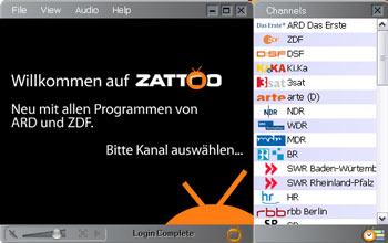 Zattoo - jetzt auch mit ARD- & ZDF-Programmen
