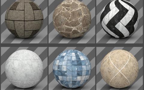 Free Cinema 4D Rock Materials - Free Cinema 4D Textures
