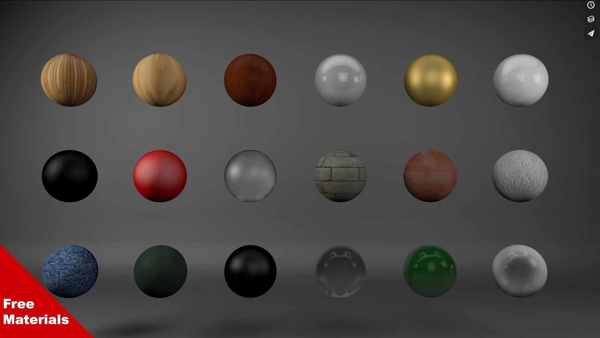 Free Cinema 4D Materials Pack - Free Cinema 4D Textures