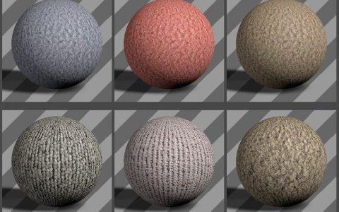 Fabric Textures 06 - Free Cinema 4D Textures
