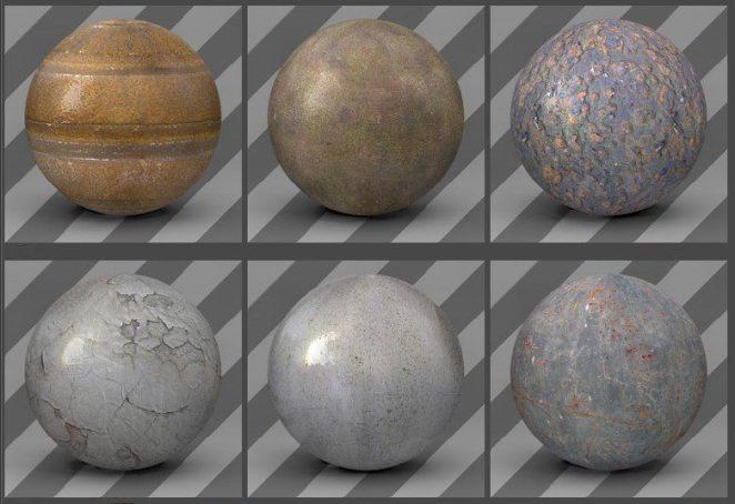 free cinema 4d textures - metal-textures-02
