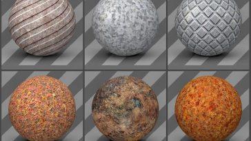 Free Cinema 4D Shader Pack v3 - Free Cinema 4D Textures