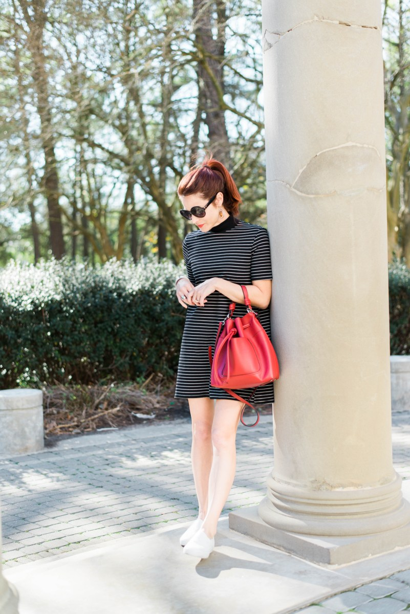 Stripe T-Shirt Dress: A Spring Casual Chic Look