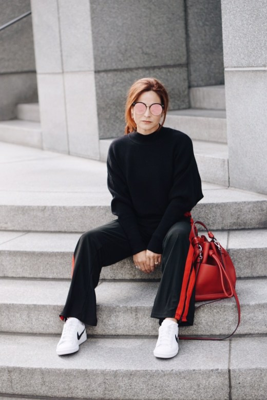 casual chic, athleisure style, nike sneakers, casual outfits