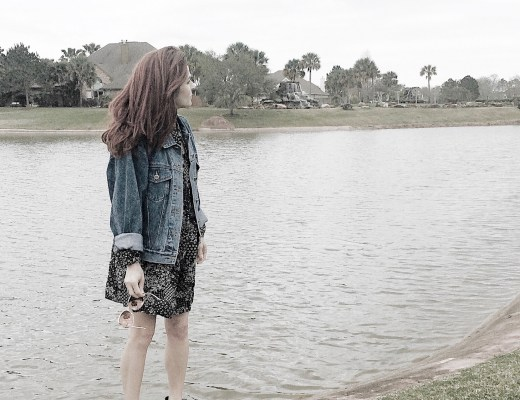 introvert, how i recharge, denim jacket, bill blass, vintage, old navy dress, shift dress, black wedges, booties, black booties, charlotte russe #introvert