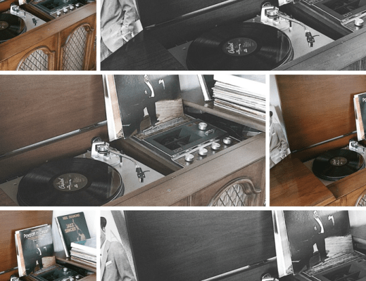 textures of grace music diary, record player, vintage, vintage music, vintage record player