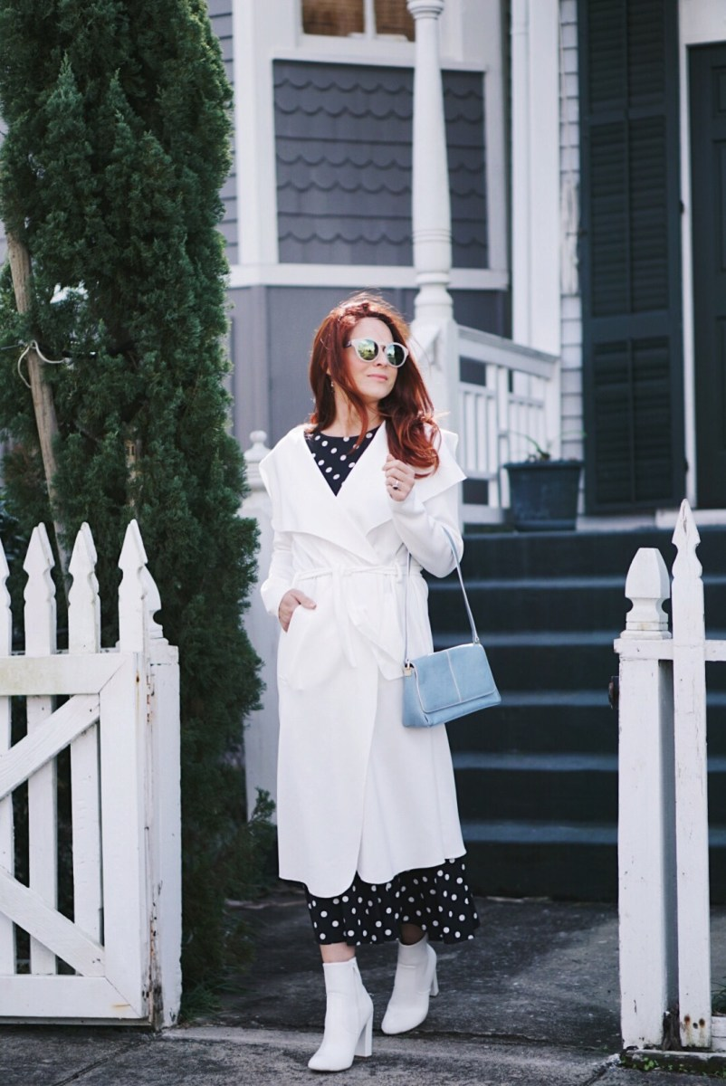 The Perfect Light-Weight Duster Coat for Spring