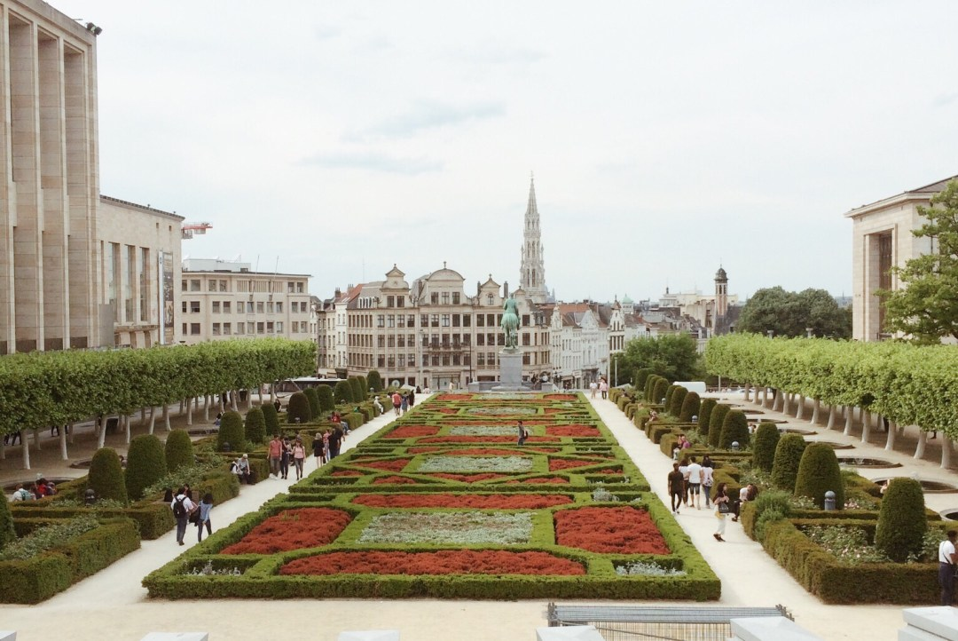 monts des arts, Brussels, Belgium, European historical sites, places to see in Europe