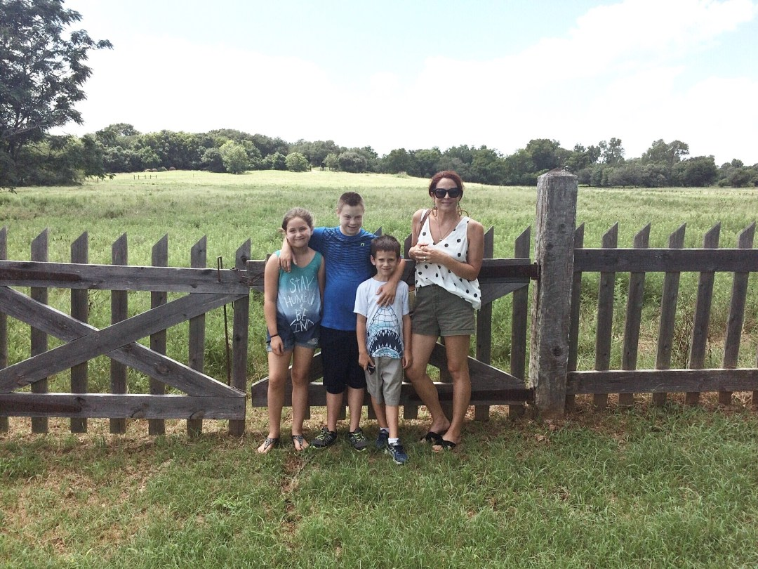 places to tour in Brenham, Texas, historical sites in Texas, family weekend getaway ideas, family trip, country living, open fields