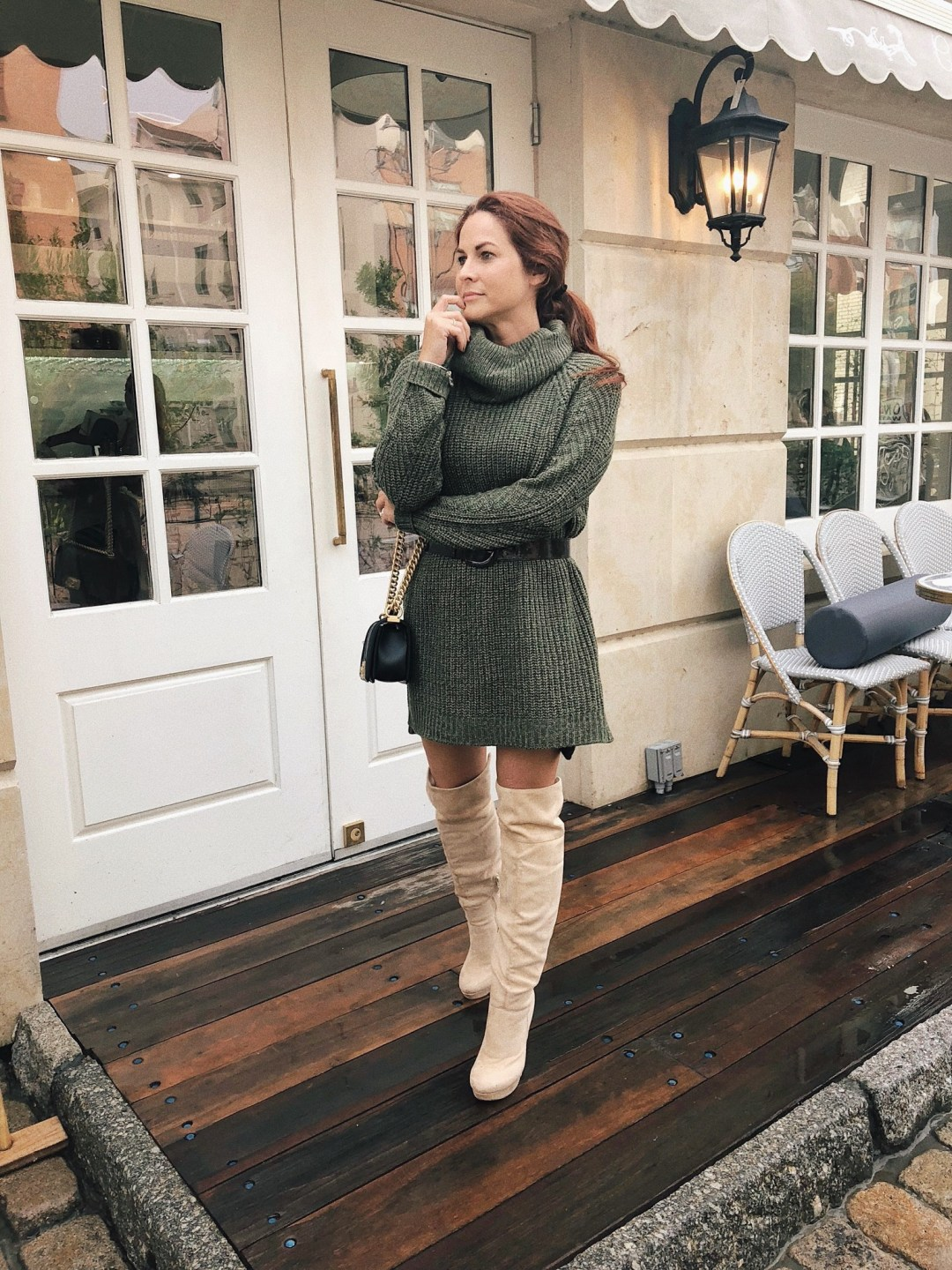 sweater dresses, how to style a sweater dress