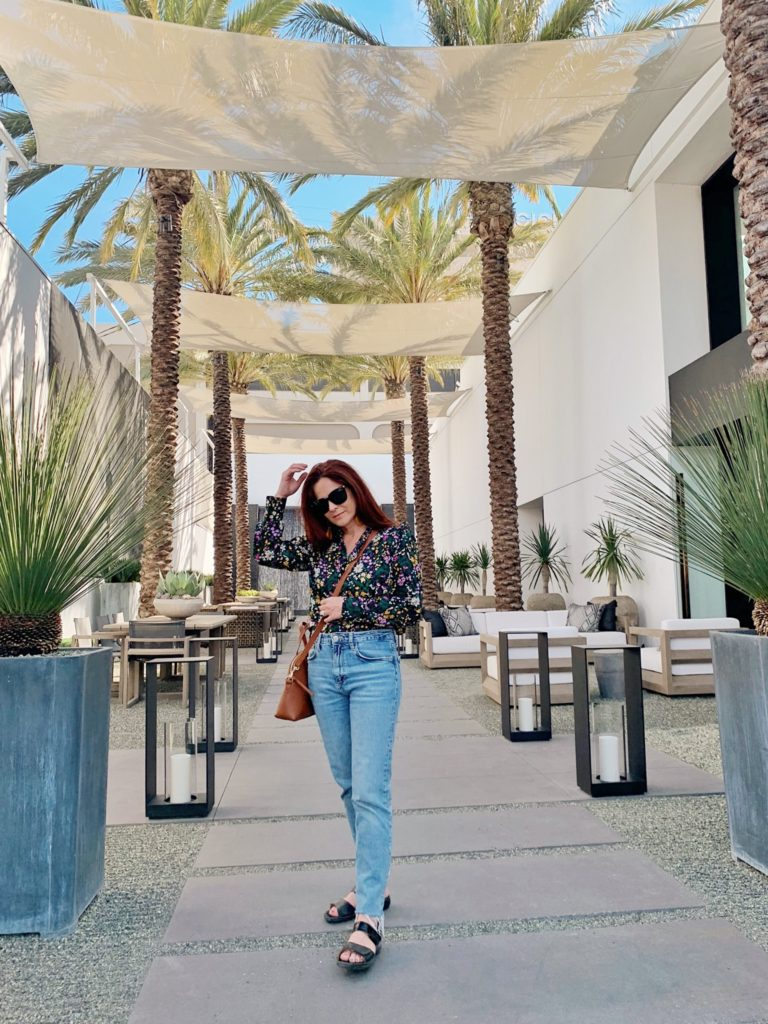 cute hotels in LA, places for photos in LA, outfit ideas for exploring the city