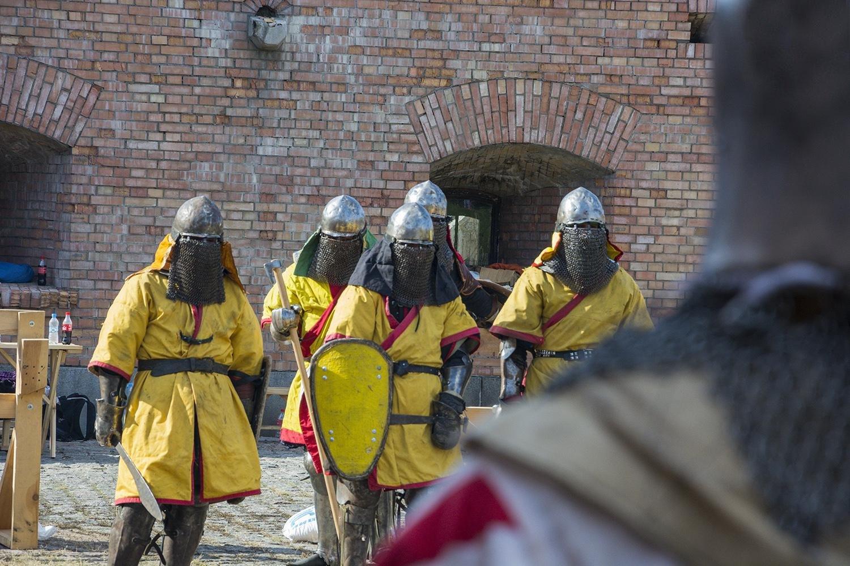 У Госпітальному укріпленні інколи проводяться лицарські поєдинки