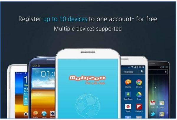 Mobizen app to record android phone screen