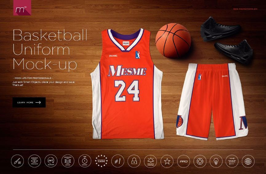 Download Jersey mockup psd templates - all kinds - Texty Cafe