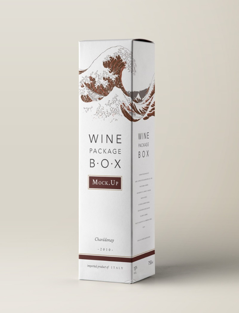 Download 15 Wine Box Mockup & Packaging PSD Templates - Texty Cafe