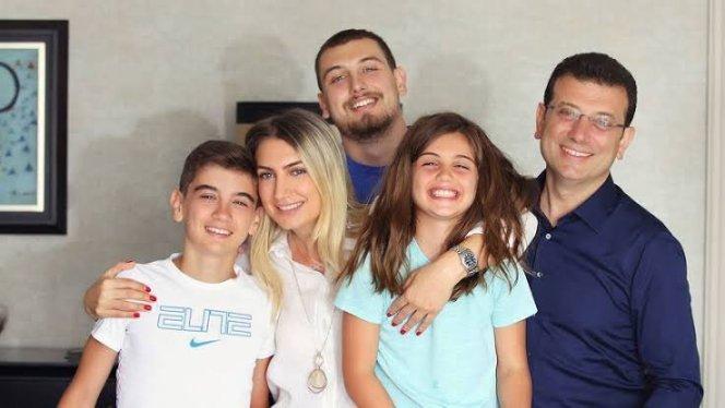 Dilek İmamoğlu ve Ekrem İmamoğlu ailesi