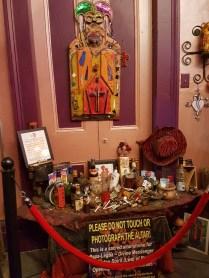 Voodoo Altar für Papa Legba