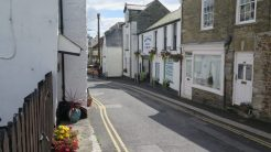 This is looking from Chapel Ground back to West Looe General Stores