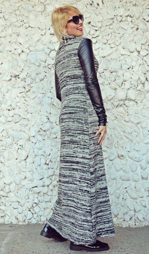 acrylic sweater dress