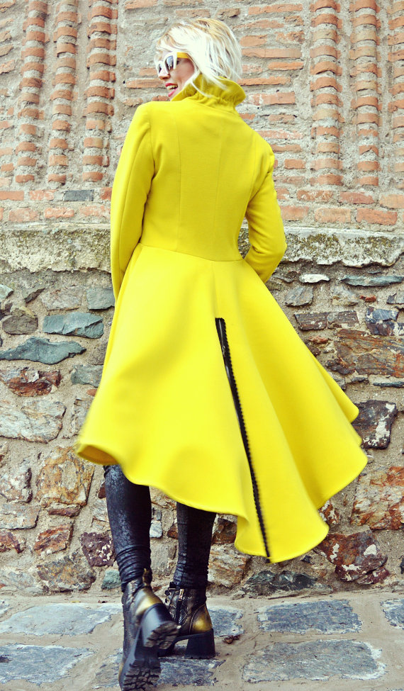 long tail coat
