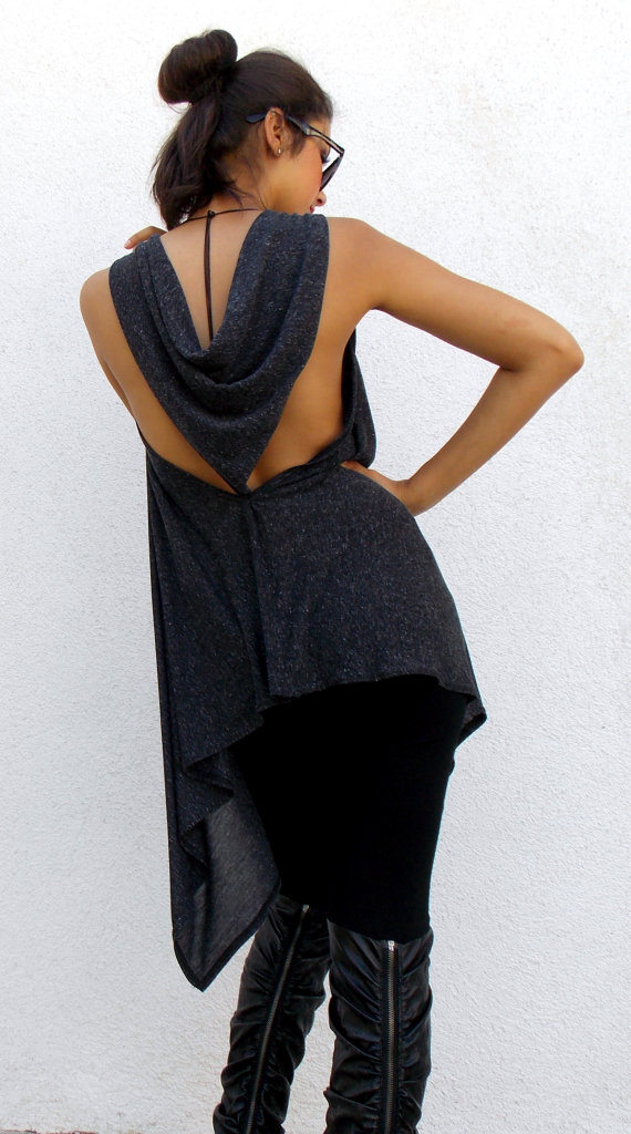 backless tunic