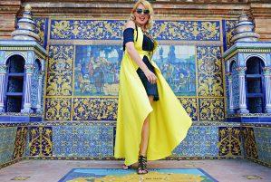 yellow cotton vest