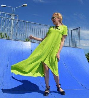 washed linen dress