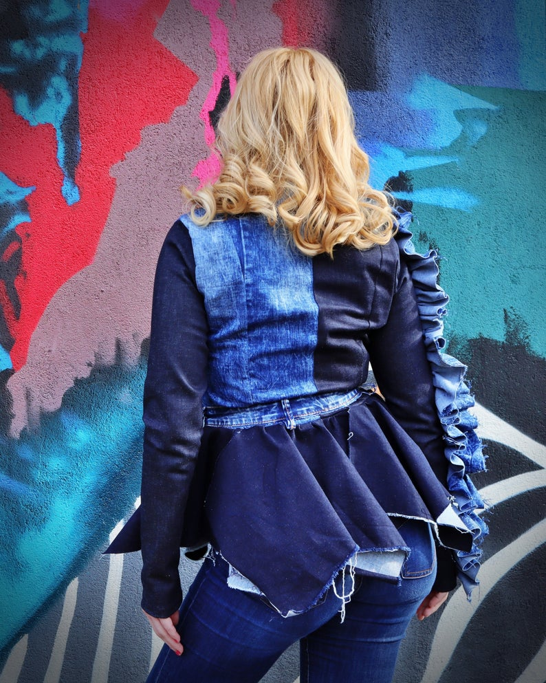bride jean jacket