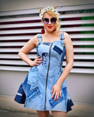 cowgirl denim dress