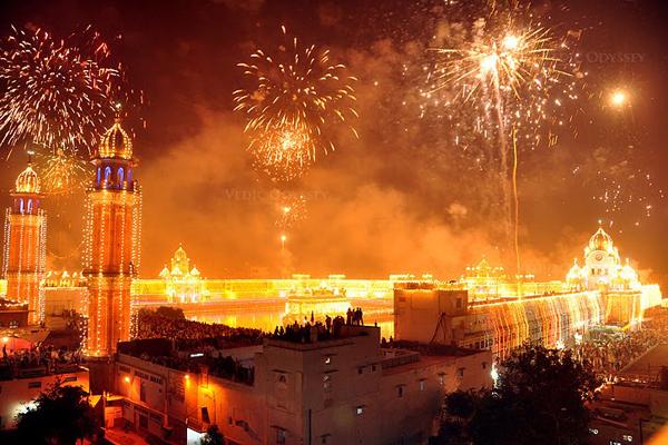 Lakshmi Puja on Diwali
