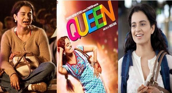 Actress Kangana Ranaut queen movie